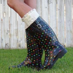 Lace Boot Cuffs, Womens Lace Boot S..
